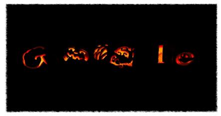 Google Halloween 2011 Doodle