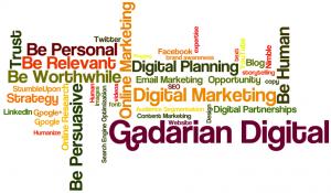 Gadarian Digital Speaking Presentation Word Jumble