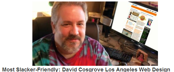 David Cosgrove Los Angeles Web Design