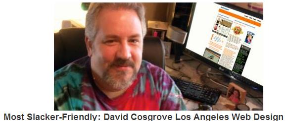 David Cosgrove Los Angeles Web Design