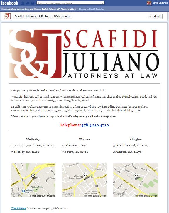 Scafidi Juliano FB Page