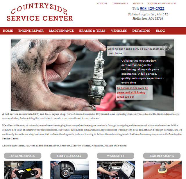 WordPress Auto Mechanic Site