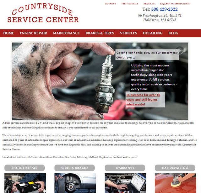 WordPress Auto Mechanic Site