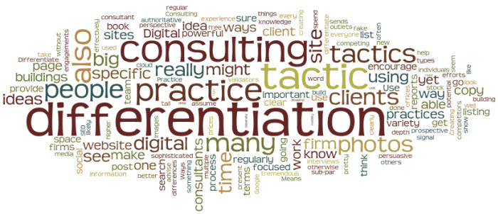 Differentiate Your Consulting Practice
