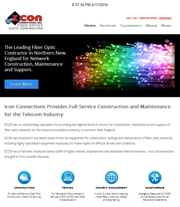 Icon Connections Inc Home Page