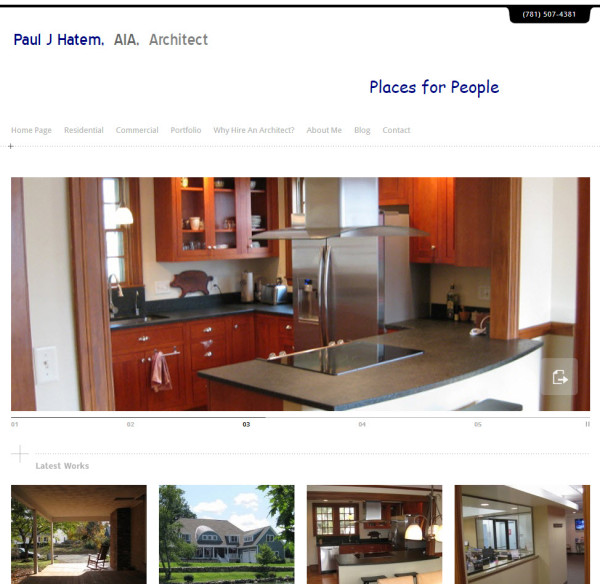 Paul Hatem AIA New Website